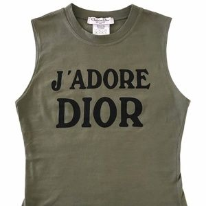 Christian Dior J'adore World Champion 1947 Tank